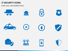 IT Security Icons PPT slide 6