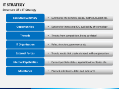 IT Strategy PPT slide 6