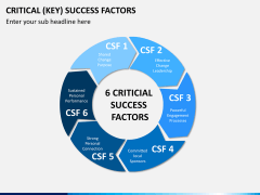 Key success factors PPT slide 1