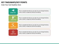 Key takeaways PPT slide 40