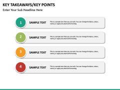 Key takeaways PPT slide 41