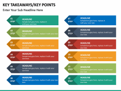 Key takeaways PPT slide 43