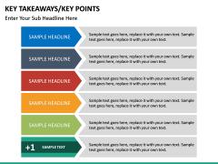 Key takeaways PPT slide 45