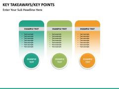 Key takeaways PPT slide 48