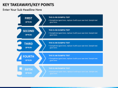 Key takeaways PPT slide 13