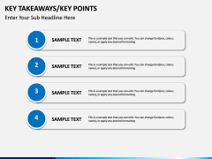 Key takeaways PPT slide 17