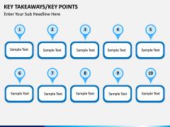 Key takeaways PPT slide 18