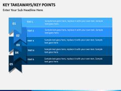 Key takeaways PPT slide 2