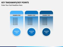 Key takeaways PPT slide 24