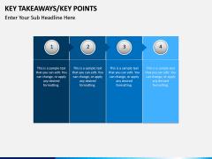 Key takeaways PPT slide 6
