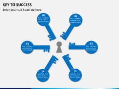 Key to success PPT slide 1