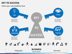 Key to success PPT slide 3