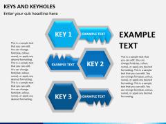 Keys and keyhole PPT slide 2