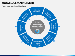 Knowledge management PPT slide 23