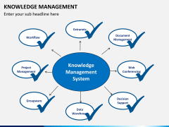 Knowledge management PPT slide 26