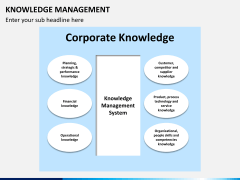 Knowledge management PPT slide 27
