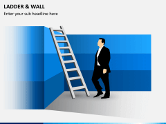 Ladder and walls PPT slide 2