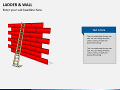 Ladder and walls PPT slide 4
