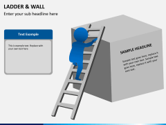 Ladder and walls PPT slide 6