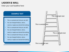 Ladder and walls PPT slide 7