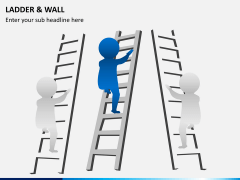 Ladder and walls PPT slide 8