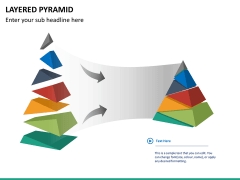 Layered pyramid PPT slide 11