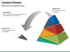 Layered pyramid PPT slide 20