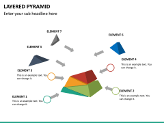 Layered pyramid PPT slide 15