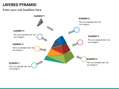 Layered pyramid PPT slide 17