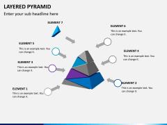 Layered pyramid PPT slide 7