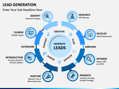 Lead Generation PPT slide 1