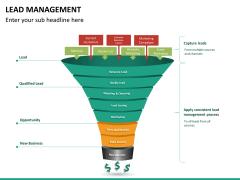 Lead management PPT slide 8