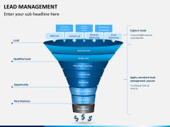 Lead management PPT slide 1