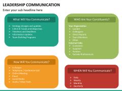 Leadership communication PPT slide 17