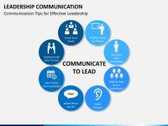 Leadership communication PPT slide 1