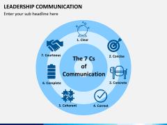 Leadership communication PPT slide 4