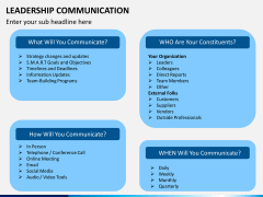 Leadership communication PPT slide 8