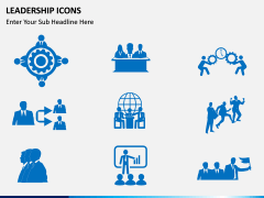 Leadership icons PPT slide 6