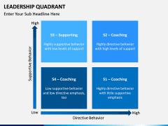 Leadership Quadrant PPT slide 5