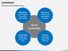 Leadership PPT slide 20