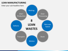 Lean manufacturing PPT slide 13