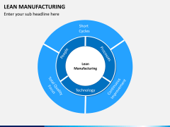 Lean manufacturing PPT slide 4
