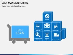Lean manufacturing PPT slide 9