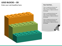 Lego blocks PPT slide 13