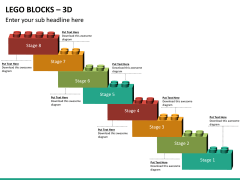 Lego blocks PPT slide 15