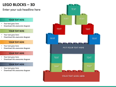 Lego blocks PPT slide 18