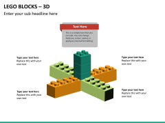 Lego blocks PPT slide 19