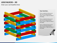 Lego blocks PPT slide 4