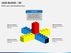 Lego blocks PPT slide 9