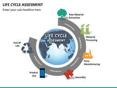 Life cycle assessment PPT slide 12